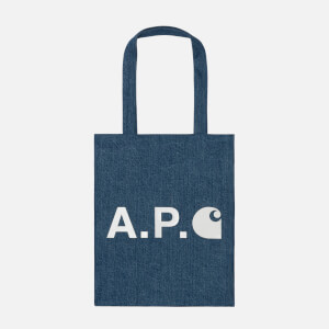A.P.C. X Carhartt Men's Alan Tote Bag - Indigo