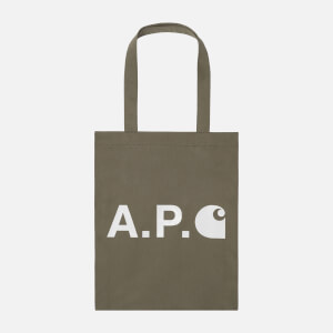 A.P.C. X Carhartt Men's Tote Bag - Khaki