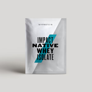 Myprotein Impact Native Whey Isolate (Sample)