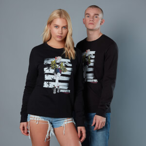 Harley Quinn Block Pannel Unisex Birds of Prey Sweatshirt - Schwarz