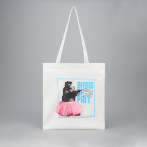 Stuffed Animal Tote Bag - White