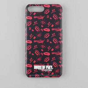 Funda móvil Birds of Prey para iPhone y Android - Negro/Rosa