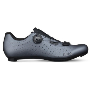 Fizik Tempo Overcurve R5 Road Shoes - Metallic Gun Metal/Black