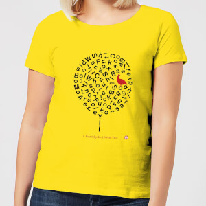 Modern Toss A Partridge In A Swear Tree Women's T-Shirt - Yellow