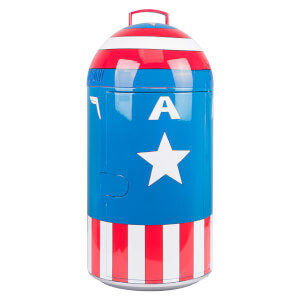 Marvel Captain America 14L Mini Fridge - US Plug