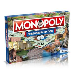 Monopoly Board Game - Shrewsbury Edition