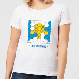 Blockbusters Can I Have A 'P' Women's T-Shirt - White