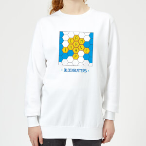 Blockbusters Can I Have A 'P' Women's Sweatshirt - White