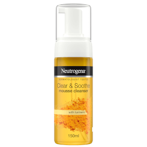 Neutrogena Clear & Soothe Mousse Cleanser 150ml