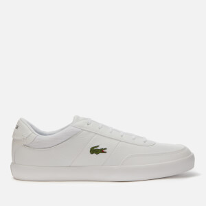 Lacoste Men's Court Master 120 Low Top Trainers - White