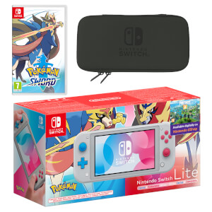 Nintendo Switch Lite (Zacian & Zamazenta Edition) Pokémon Sword Pack