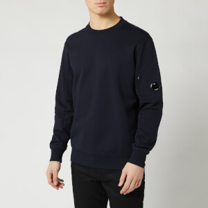 C.P. Company Men's Crewneck Sweatshirt - Total Eclipse