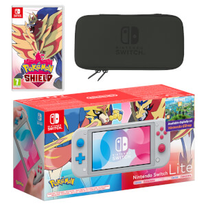 Nintendo Switch Lite (Zacian & Zamazenta Edition) Pokémon Shield Pack