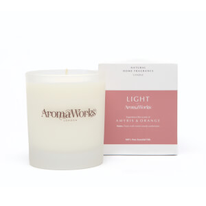 AromaWorks Light Range - Amyris and Orange Candle 30ml