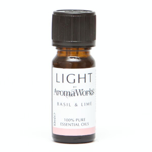 AromaWorks Light Range - Basil and Lime Essential Oil 10ml