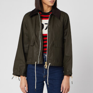 Barbour X Alexa Chung Women's Margot Wax Jacket - Archive Olive