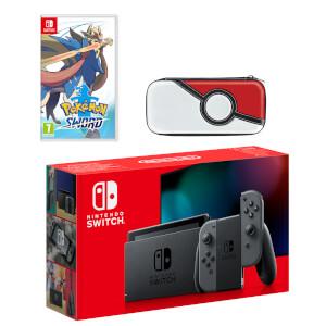 Nintendo Switch (Grey) Pokémon Sword Pack