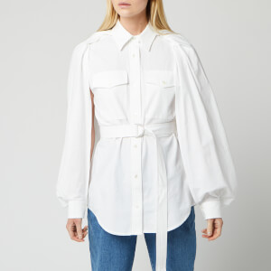 JW Anderson Women's Trench Shirt - White