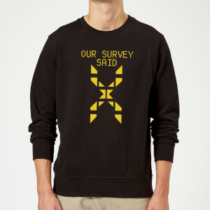 Family Fortunes Our Survey Said Sweatshirt - Black