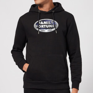 Family Fortunes Logo Hoodie - Black