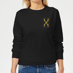 Family Fortunes Wrong Answer Pocket Print Women's Sweatshirt - Black
