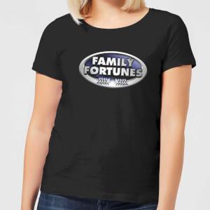 Family Fortunes Logo Women's T-Shirt - Black