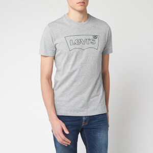 Levi's Men's Housemark Graphic T-Shirt - Mid Tone Grey Heather