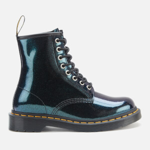 Dr. Martens Women's 1460 8-Eye Sparkle Boots - Teal/Pacific Sparkle