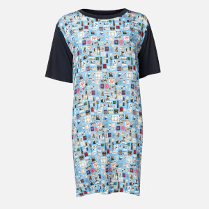 PS Paul Smith Women's Stamp Dress - Blue