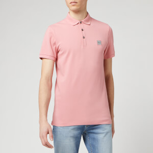 BOSS Hugo Boss Men's Passenger Polo Shirt - Medium Pink