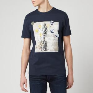 BOSS Hugo Boss Men's Troaar 4 T-Shirt - Dark Blue