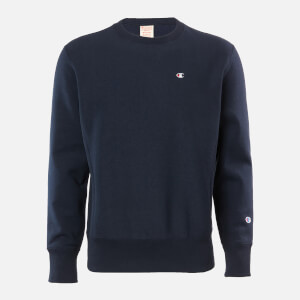Champion Men's Basic Crewneck Sweatshirt - Navy