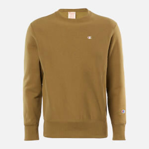 Champion Men's Basic Crewneck Sweatshirt - Khaki