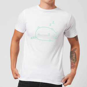 Pusheen Sleeping Men's T-Shirt - White