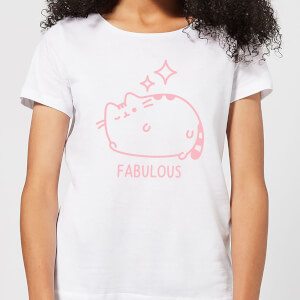 Pusheen Fabulous Wink Women's T-Shirt - White