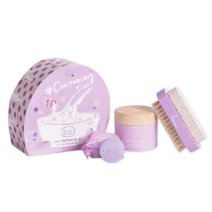Le Mini Macaron Cocooning Time 3-in-1 Spa Pedicure Set