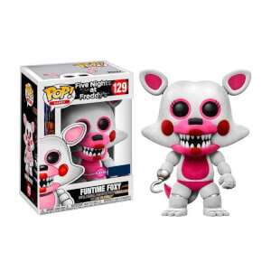 Five Nights At Freddy's Sister Location Funtime Foxy Flocked EXC Pop! Vinyl Figure