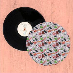 Kawaii Sushi Time Turntable Slip Mat