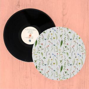 Pressed Flowers Turntable Slip Mat