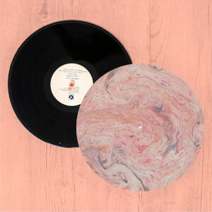 Colourful Marble Turntable Slip Mat