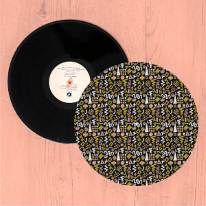Crazy Funky Pattern Turntable Slip Mat
