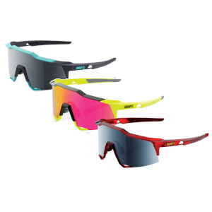 100% Speedcraft Sunglasses with Mirror Lens