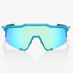 100% Speedcraft Peter Sagan Limited Edition Sunglasses with Blue Multiplayer Mirror Lens