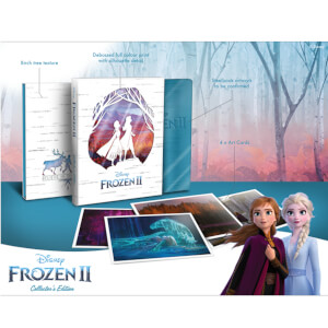 Exclusivité Zavvi : Édition Collector La Reine des Neiges 2 - Steelbook 3D (Blu-ray 2D Inclus)