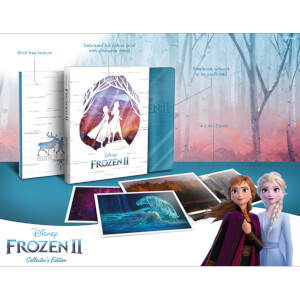 Exclusivité Zavvi : Édition Collector La Reine des Neiges 2 - Steelbook 4K Ultra HD (Blu-ray 2D Inclus)