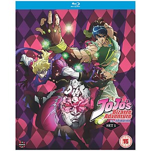 JoJo's Bizarre Adventure Set One: Phantom Blood / Battle Tendency
