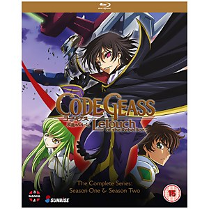Code Geass: Lelouch of the Rebellion: Complete Series Collection