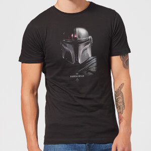 T-Shirt The Mandalorian Poster - Nero - Uomo
