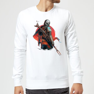 The Mandalorian Blaster Rifles Sweatshirt - White
