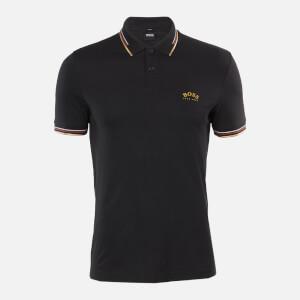 BOSS Hugo Boss Men's Paul Curved Polo Shirt - Charcoal